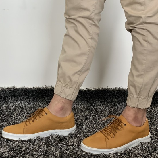Tênis Sneaker Masculino Torres Nobuck Mostarda
