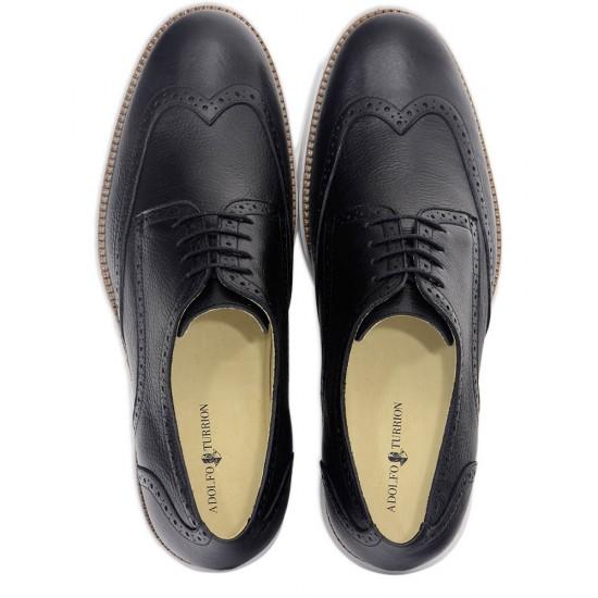 Sapato Masculino Brogue Jaen Preto