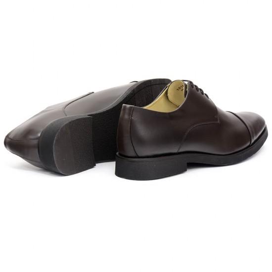 Sapato Masculino Derby Cap-toe Cadiz Café