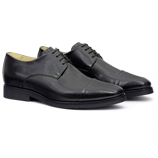 Sapato Masculino Derby Cap-toe Cadiz Preto