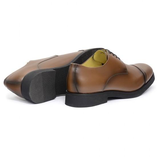 Sapato Masculino Derby Cap-toe Cadiz Whisky
