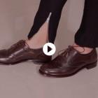 Sapato Feminino Brogue Baeza Café