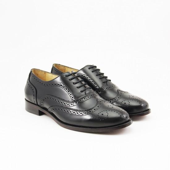 Sapato Feminino Brogue Baeza Preto