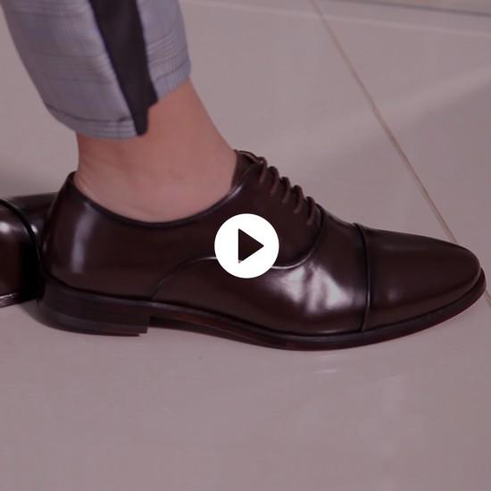 Sapato Feminino Oxford Córdoba Café