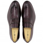 Sapato Social Loafer Alicante Burgundy