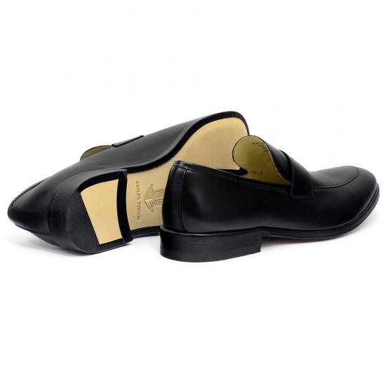 Sapato Social Loafer Alicante Preto