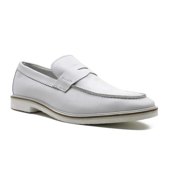 Sapato Masculino Loafer Oviedo Branco