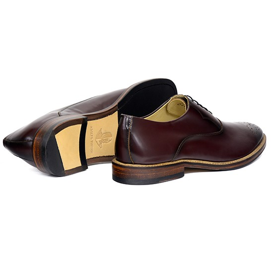 Sapato Masculino Oxford Badajoz Burgundy