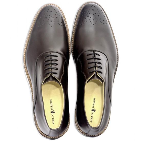 Sapato Masculino Oxford Badajoz Café