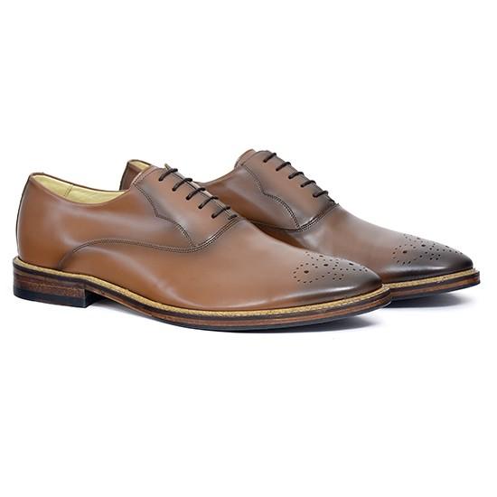 Sapato Masculino Oxford Badajoz Whisky