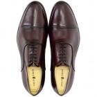 Sapato Social Oxford Córdoba Burgundy