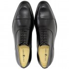 Sapato Masculino Oxford Cap-toe Huelva Preto