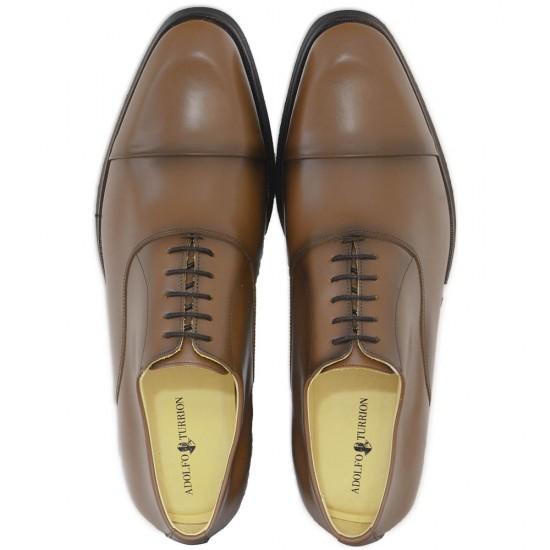 Sapato Masculino Oxford Cap-toe Huelva Whisky