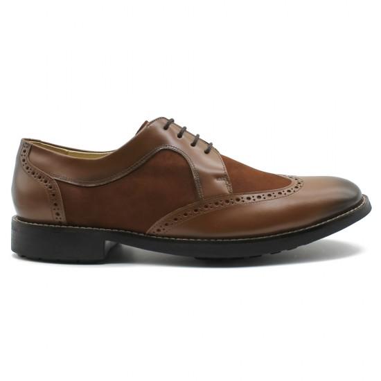 Sapato Masculino Brogue Prado Whisky