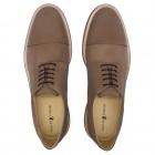 Sapato Masculino Derby Lugo Nobuck Cinza