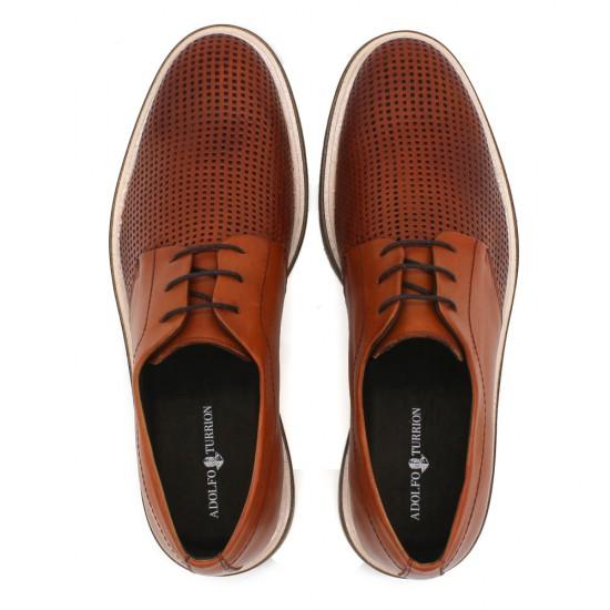Sapato Masculino Derby Lorenzo Conhaque