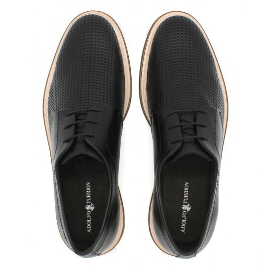 Sapato Masculino Derby Lorenzo Preto