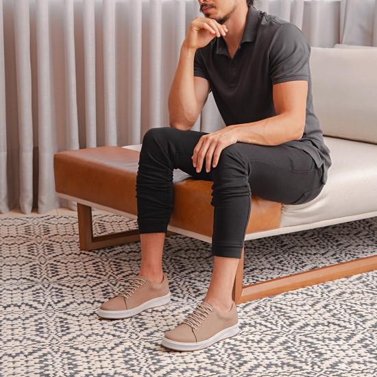 Tênis Sneaker Masculino Torres Nobuck Cinza