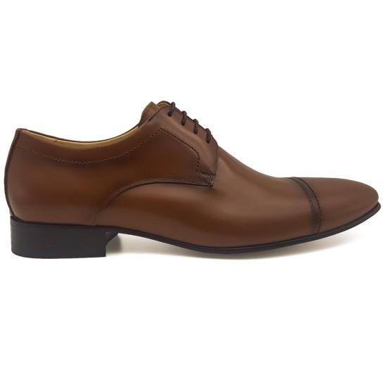Sapato Social Derby Irun Whisky