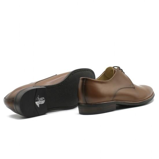 Sapato Social Derby Merida Whisky - Sola Borracha
