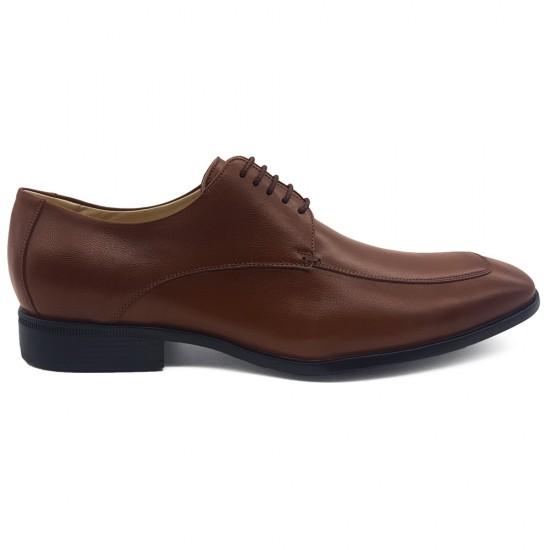 Sapato Social Confort Derby Saldaña Pinhão