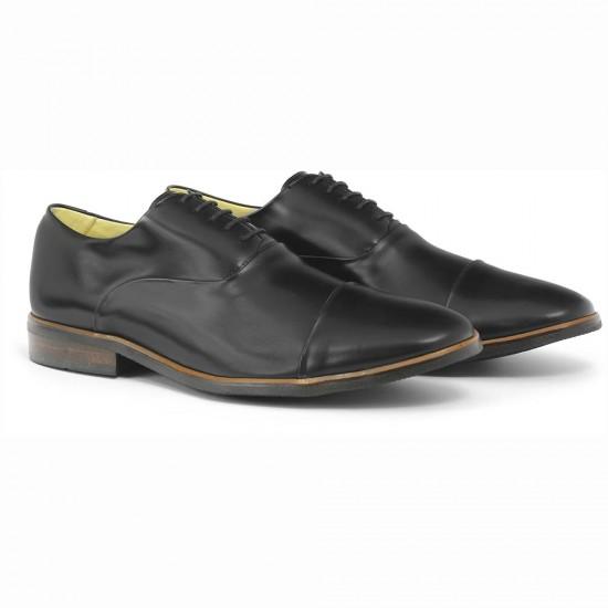 Sapato Social Oxford Córdoba Preto - Sola Borracha