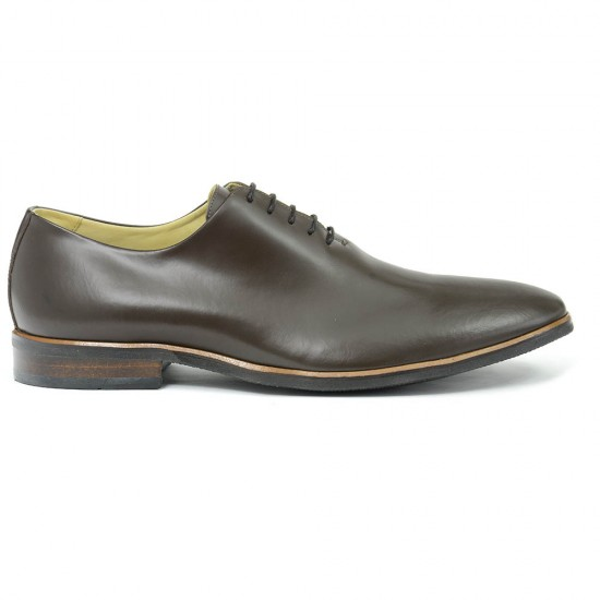 Sapato Social Wholecut Oxford Madrid Burgundy - Sola Borracha