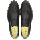 Sapato Social Wholecut Oxford Madrid Preto - Sola Borracha