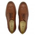 Sapato Masculino Brogue Jaen Whisky
