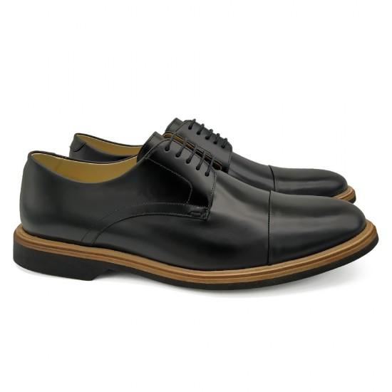 Sapato Masculino Derby Almería Preto