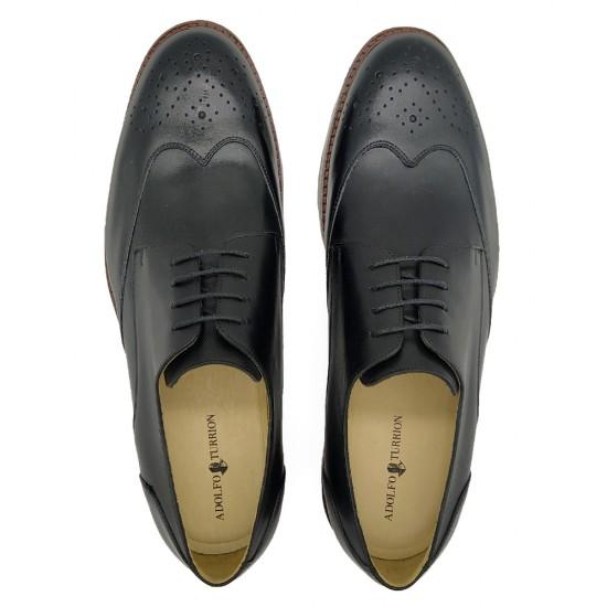 Sapato Masculino Derby Ayala Preto