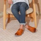 Sapato Masculino Derby Bernedo Caramelo