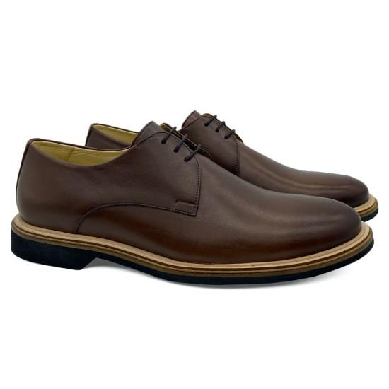 Sapato Masculino Derby Liz Café