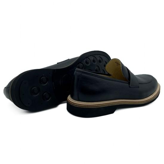 Sapato Masculino Loafer Adan Preto