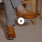Sapato Masculino Loafer Turre Caramelo