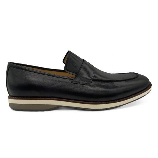 Sapato Masculino Loafer Turre Preto