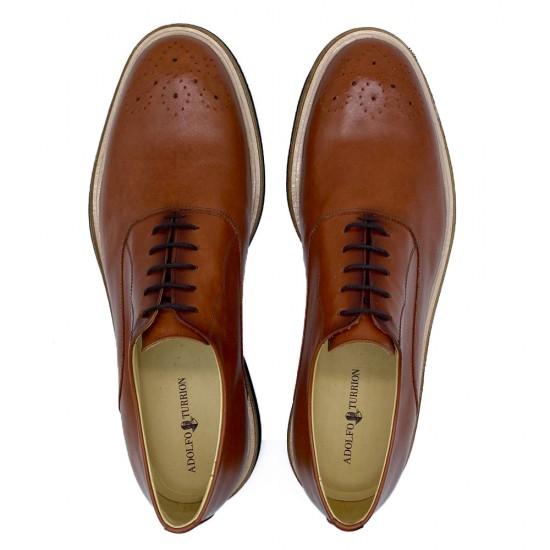Sapato Masculino Oxford Felix Conhaque