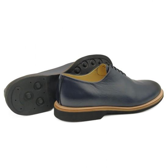 Sapato Masculino Wholecut Oxford Linares Marinho