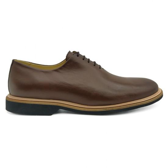 Sapato Masculino Wholecut Oxford Linares Café