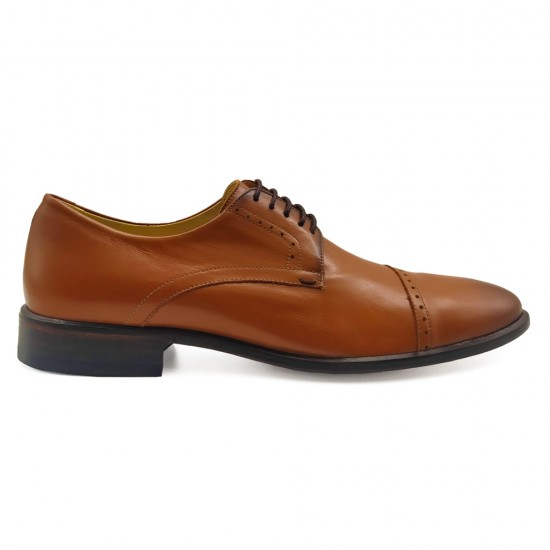 Sapato Social Derby Alaraz Caramelo (english Tan)