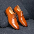 Sapato Social Derby Alaraz Caramelo (english Tan)