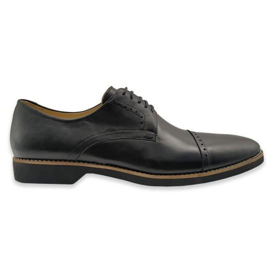 Sapato Masculino Derby Cantelle Preto