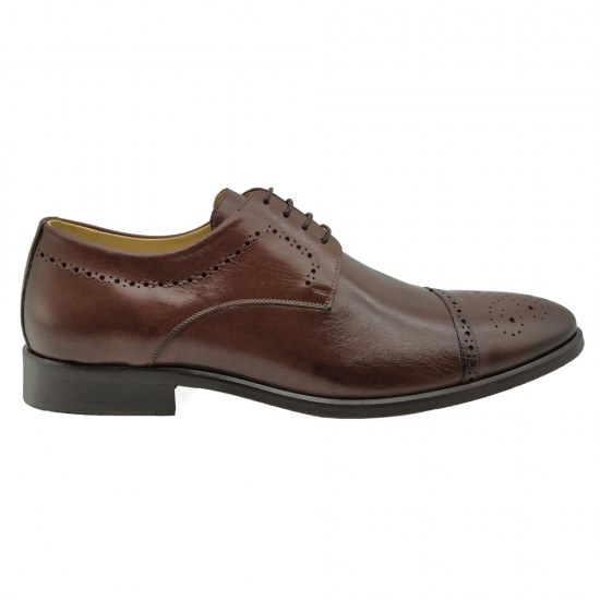 Sapato Social Derby Zara Burgundy