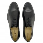Sapato Social Wholecut Oxford Madrid Preto