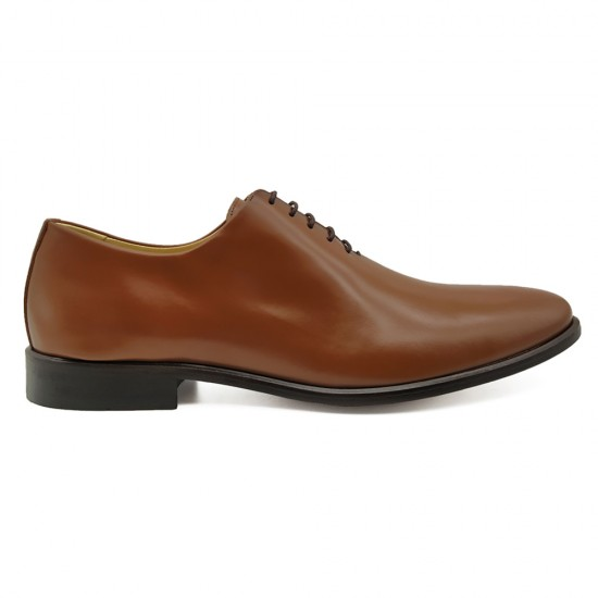 Sapato Social Wholecut Oxford Madrid Whisky