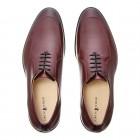 Sapato Social Masculino Oxford Teo Burgundy