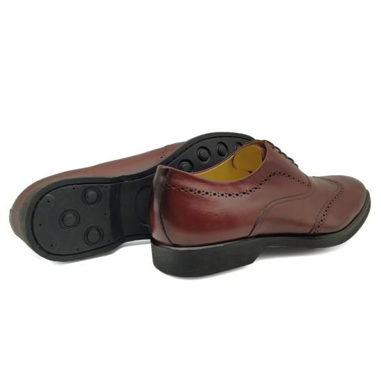 Sapato Social Oxford Vita Burgundy